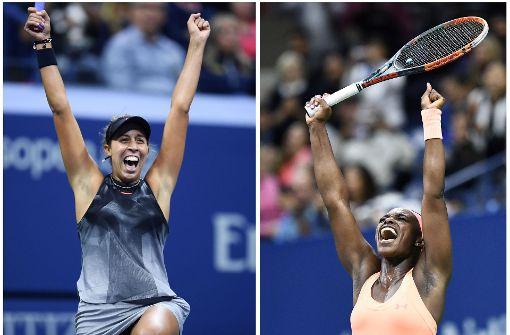 Madison Keys und Sloane Stephens im Finale