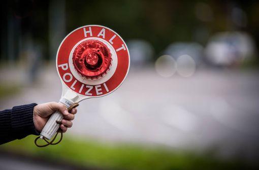 Reichsbürger verweigert Kontrolle
