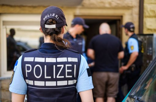 In Stuttgart beendete die Polizei eine Hausbesetzung. Foto: Lichtgut/Max Kovalenko