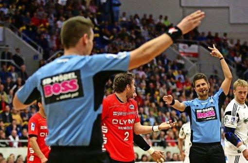 Handball Blaue Karte