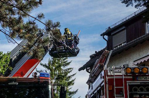 Tierärztin rettet Tiere aus brennendem Haus