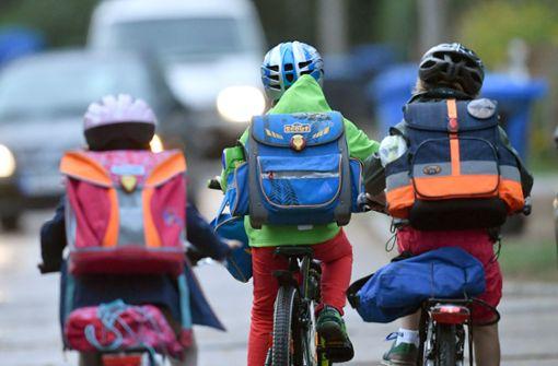 Laut BASt, sind Kinder von sechs bis zehn Jahren die am meisten behelmte Altersgruppe.  Foto: dpa-Zentralbild