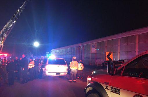 Zwei Tote und zahlreiche Verletzte bei Zugunglück