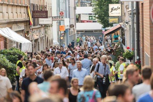 Flanieren und feiern im Altstadtquartier