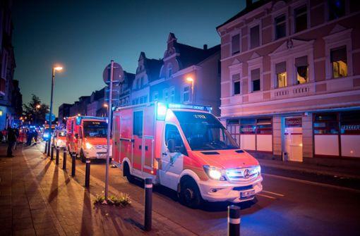 Verletzte durch Gasaustritt – mögliche Beziehungstat