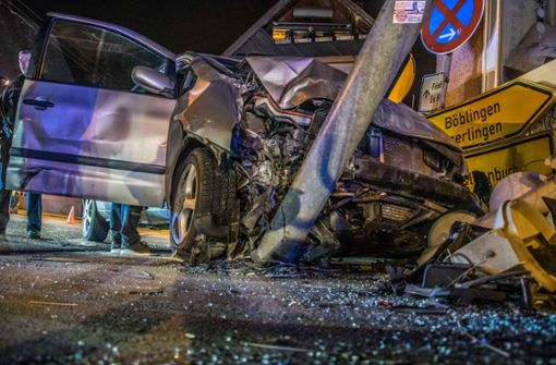 Schwerer Unfall auf Kreuzung