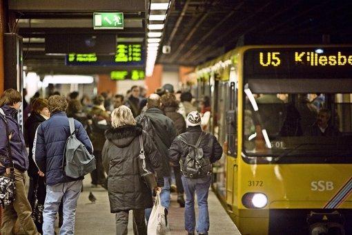 Eine neue Linie könnte von Plieningen über den Hauptbahnhof zum Killesberg führen, und so für zusätzliche Verbindungen  sorgen. Foto: Michael Steinert