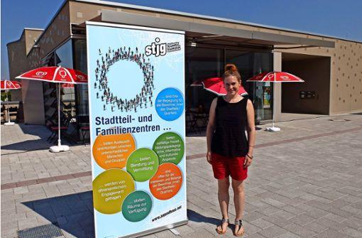 Nadja Pauschar freut sich über Interessierte, die das Zentrum nutzen möchten. Foto: Iris Frey