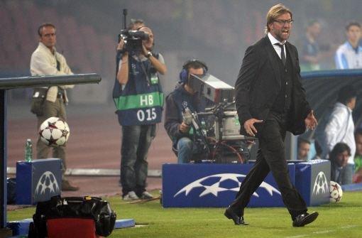 Dortmund verliert in Neapel 1:2