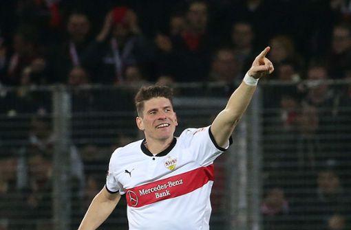 Mario Gomez schießt den VfB zum Sieg