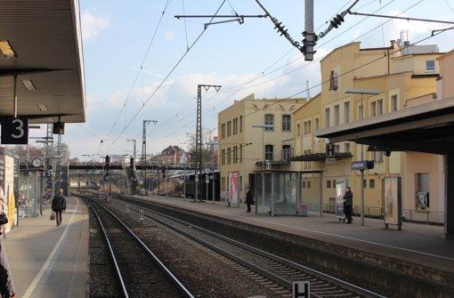 Ein wichtiges Thema bei der Planwerkstatt: eine  bessere Querverbindung über die Gleise am Ludwigsburger Bahnhof. Foto: Pascal Thiel