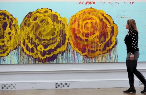 The Rose (III) von Cy Twombly Foto: dpa