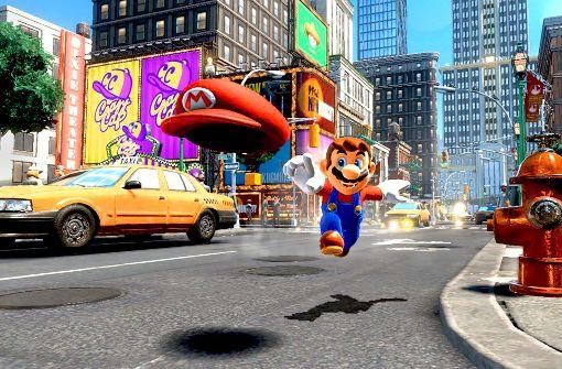 Super Mario und seine Konkurrenten