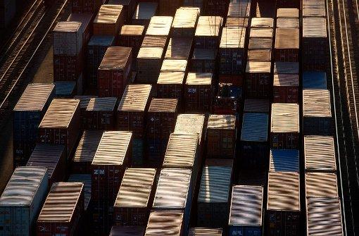 Das Ausland ordert mehr bei der  Industrie