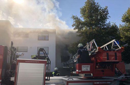 Warum das Feuer ausbrach, ist noch unklar. Foto: SDMG