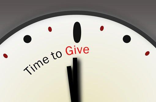 Zeit - Für viele das wertvollste Geschenk