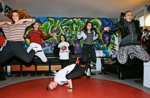 Hip-Hop-Tänzer träumen von Las Vegas