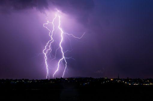 Gewitter, Starkregen und Hagel am Nachmittag