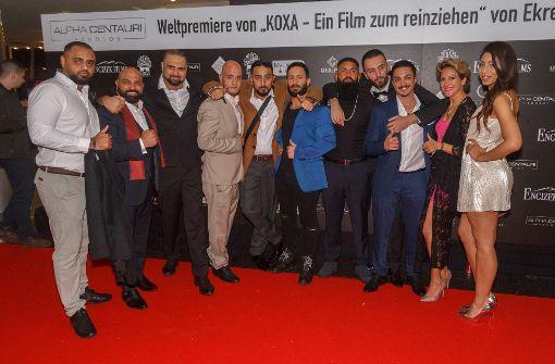 """Auf dem roten Teppich für den Film """"Koxa"""". Foto: 7aktuell.de/Daniel Boosz"""