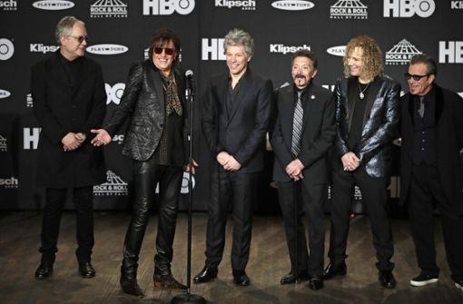 Künstler in Rock and Roll Hall of Fame aufgenommen