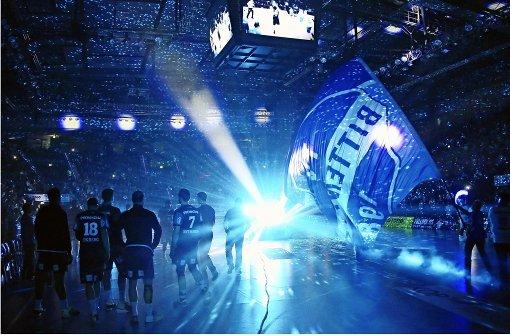 Magie Handball bringt der TVB Stuttgart 1898 in die Porsche-Arena Foto: Pressefoto Baumann