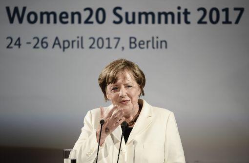 Merkel setzt sich für Geldfonds zur Frauenförderung ein