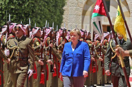 Merkel spricht vor Studenten: Deutschland muss ein offenes Land bleiben