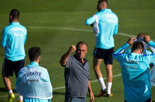 Türkei vs. Spanien – Terim kündigt forsches Auftreten an / Terim'den dinamik bir oyun sözü