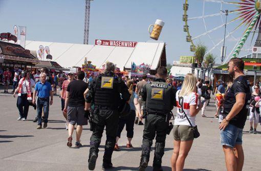 Frühlingsfest-Besucherin findet ihren Polizisten