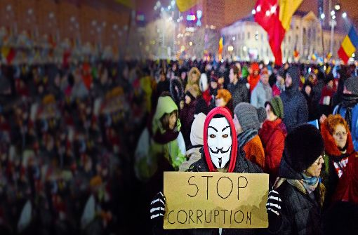 Seit Ende Januar versammelnt sich täglich Demonstranten, um gegen die Regierung zu protestieren. Foto: AP