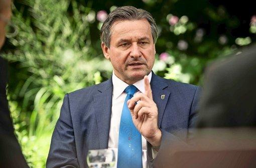 Will die Erfolgsserie der Liberalen von Hamburg und Bremen im Südwesten fortsetzen: FDP-Spitzenkandidat Hans-Ulrich Rülke Foto: Lichtgut/Max Kovalenko