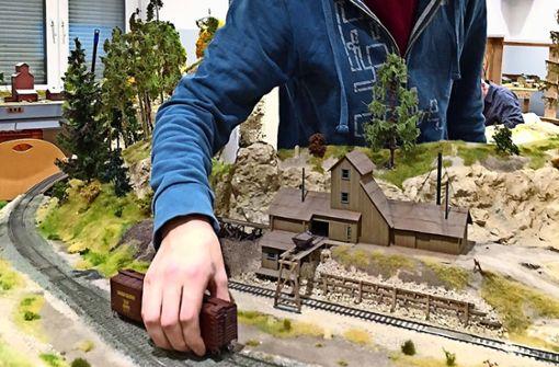 Kohle verladen und Lok fahren