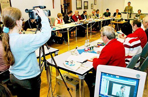 Der Gemeinderat fast live im Netz