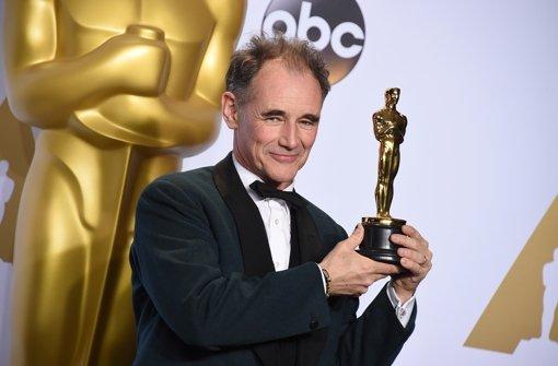 """Mark Rylance hat den Oscar als bester Nebendarsteller bekommen in dem Film """"Bridge of Spies – Der Unterhändler"""", eine deutsche Ko-Produktion. Foto: AP"""