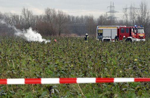 Vier Tote bei Zusammenstoß von Flugzeug und Hubschrauber