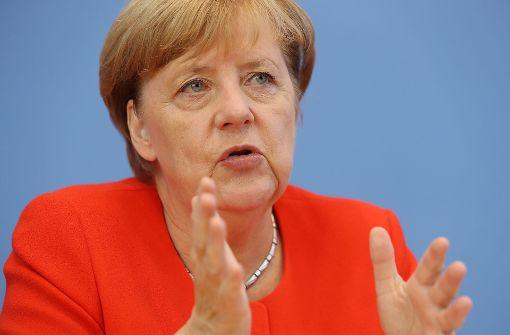 Merkel erhöht den Druck auf Erdogan