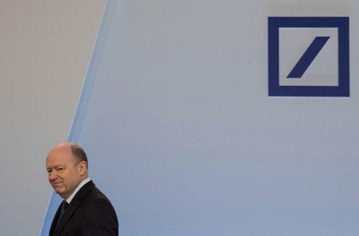 Deutsche Bank bleibt Dauerbaustelle