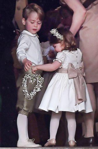 George und Charlotte hatten ihre Aufgabe... Foto: dpa