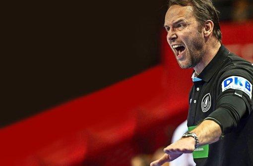 Architekt eines erfolgreichen Teams:  Bundestrainer Dagur Sigurdsson gibt bei den deutschen Handballern den Ton an.    Foto: dpa