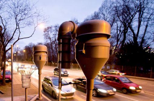 Messstation am Stuttgarter Neckartor: Die Werte werden deutlich besser – bei Feinstaub wie bei Stickoxiden. Foto: dpa