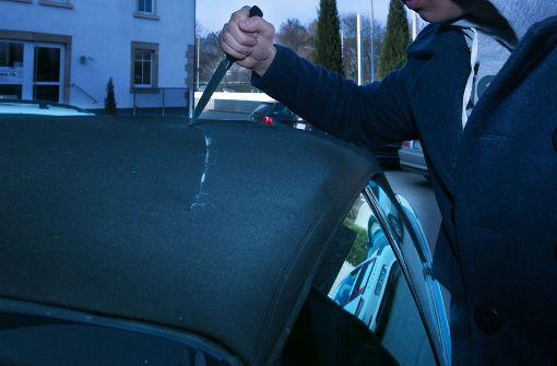 Hassobjekt Auto – Tausende Euro Schaden in Stuttgart