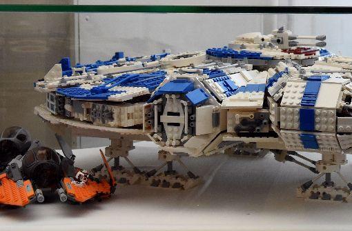Lego-Ufos können am Sonntag nachgebaut werden. Foto: Schlossverwaltung