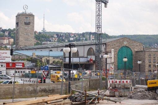 ...Bilder von der Stuttgarter Bahnhofsbaustelle im Mai 2013 - klicken Sie sich durch! Foto: www.7aktuell.de | Florian Gerlach