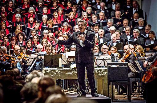 Der Dirigent sagt Adieu nach 25 Jahren