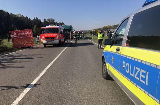 Tödlicher Unfall – B29 komplett gesperrt