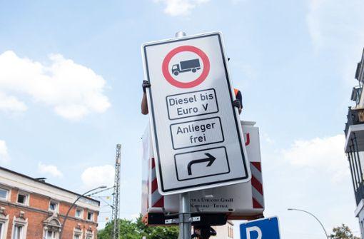 Erste Fahrverbote in Hamburg ab 31. Mai