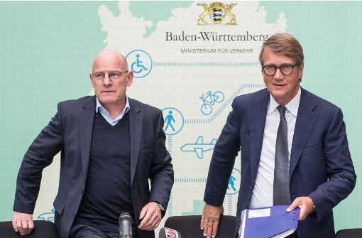 Minister trommelt für zweigleisige Wendlinger Kurve