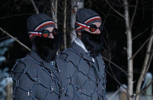 Die schrägen Winteroutfits für Männer