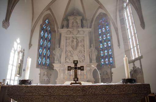 Die Polizei erwischte in Waldshut-Tiengen ein Pärchen beim Sex in der Kirche (Symbolbild) Foto: dpa