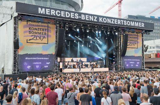 Mercedes-Benz-Konzertsommer: Freundeskreis-Fans beklagen sich über ...